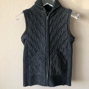 EDDIE BAUER | Gray {Wool Blend} Sweater Vest - S